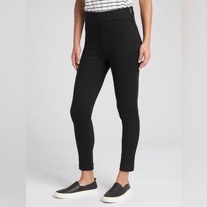 Side-Zip Ponte Leggings